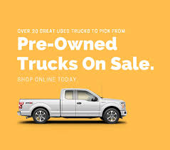 Pre-Owned Trucks For Sale